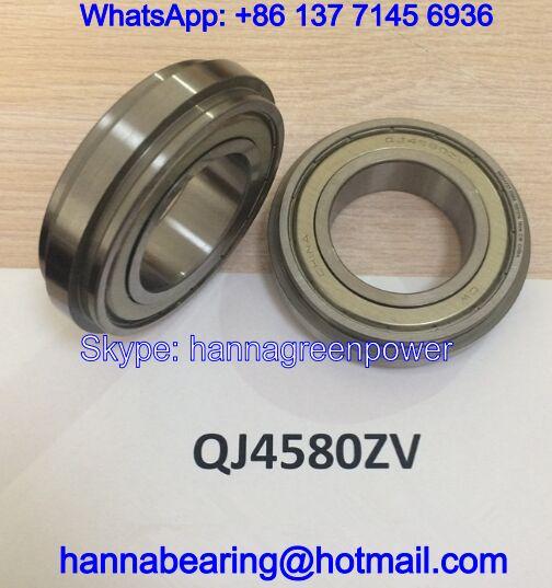 QJ4580Z / QJ4580ZV Flanged Angular Contact Ball Bearing 45x84/77X20mm