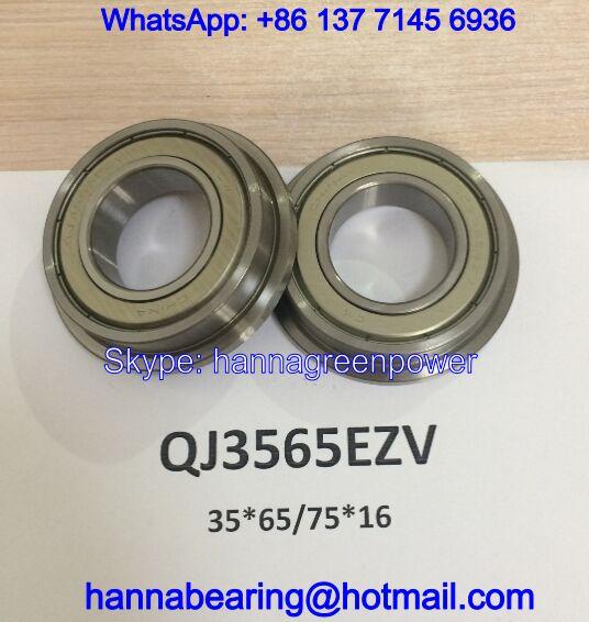 QJ3565EZV Angular Contact Ball Bearing 35x65/75x16mm