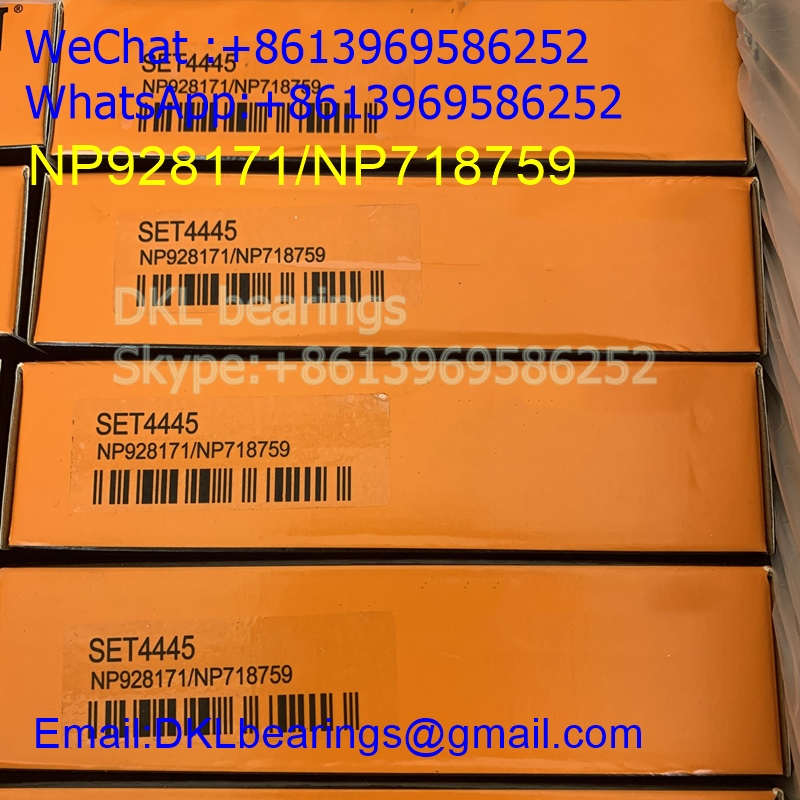 NP928171/NP718759 USA Tapered Roller Bearing (High quality) size 92.075*152.4*36.332 mm