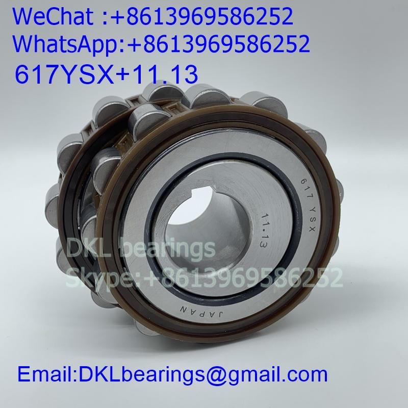 617YSX+11.13 Japan Eccentric Bearing (High quality) size 60*113*62 mm