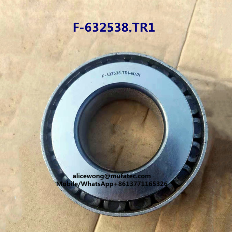 F-632538.TR1 Tapered Roller Bearings With Nylon Cage Auto Wheel Hub Bearings 41.275x71x19.5mm