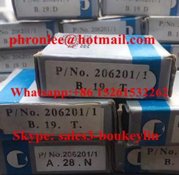 6204-2RZP43 Deep Groove Ball Bearing 20x47x14mm
