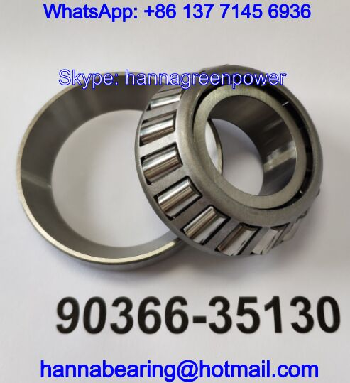 90366-35130 Automotive Tapered Roller Bearing 35*75*22mm