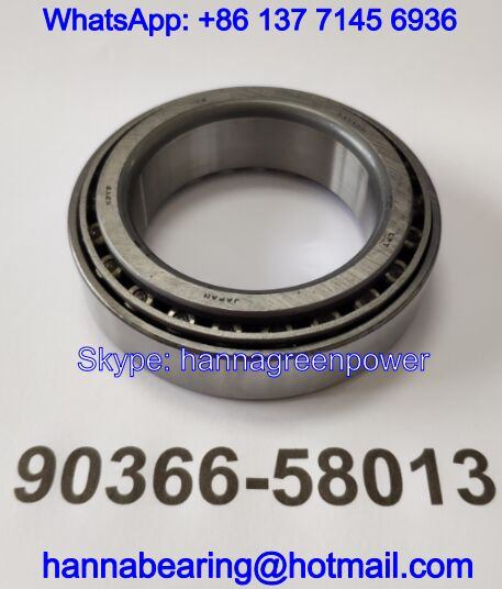 90366-58013 Auto Gearbox Bearing / Tapered Roller Bearing