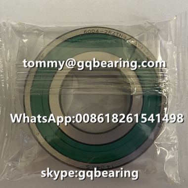 6004-2RZTN9/C3VT162 Green Color Sealed Deep Groove Ball Bearing