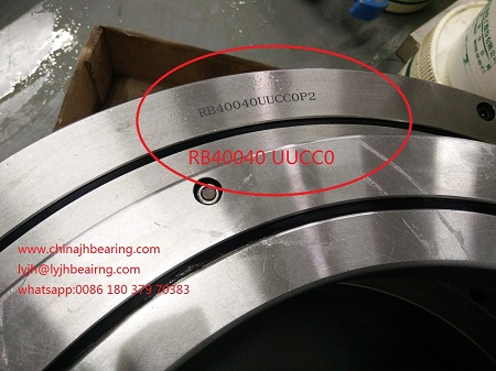 RB40040 Crossed roller bearing Robot rotating 510x400x40 mm