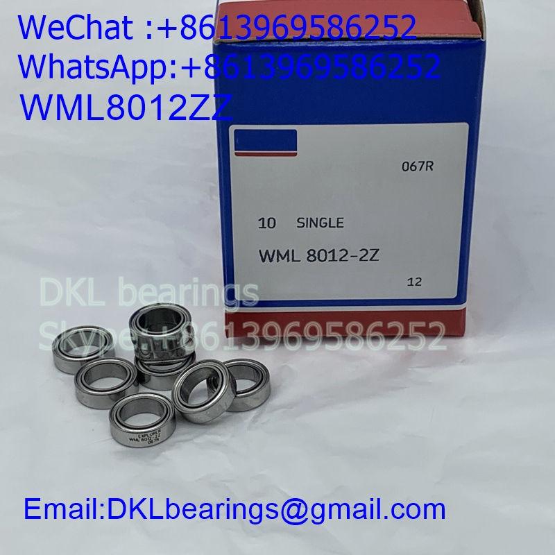 WML8012ZZ Japan Deep Groove Ball Bearing (High speed) size 8*12*3.5 mm