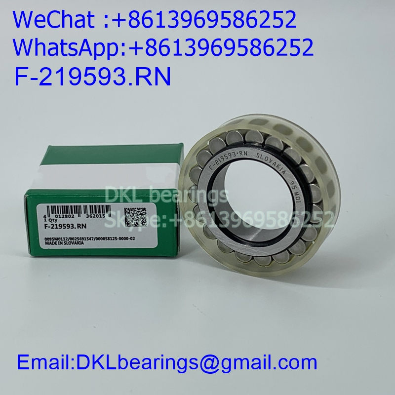 F-219593.RN Slovakia Cylindrical Roller Bearing (High quality) size 25*42.51*12 mm