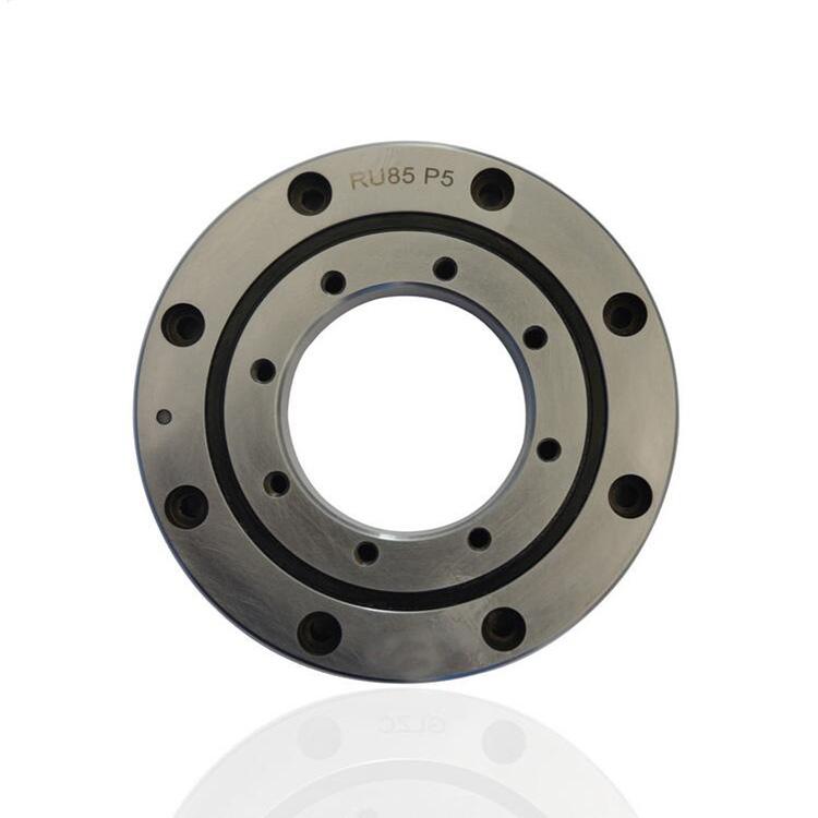 High precision RU85 cross roller slewing bearing 120*55*15mm manufacturing