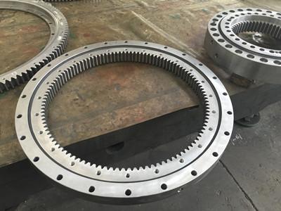 Internal gear cat345 series excavator slewing bearing part number 2276037
