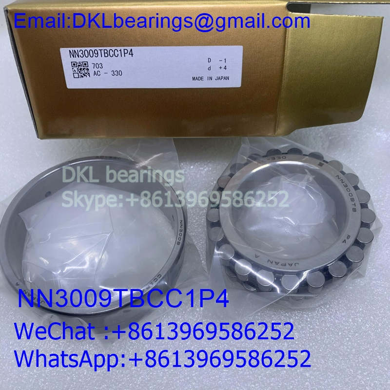 NN3009TBCC1P4 Japan Double row cylindrical roller bearing (High quality) size 45*75*23 mm