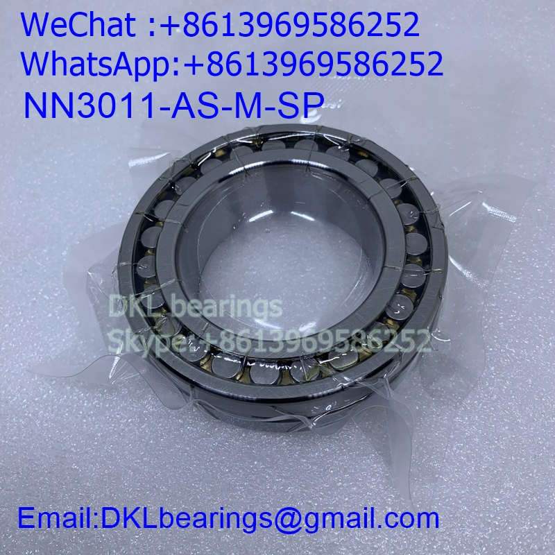 NN3011-AS-M-SP Germany Double row cylindrical roller bearing (High quality) 55*90*26 mm