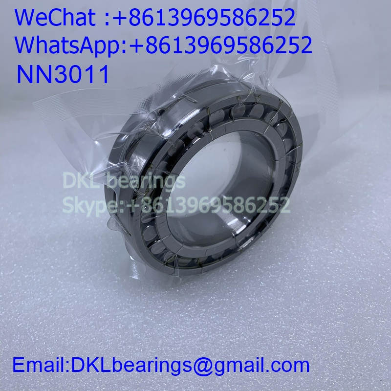 NN3011 Double row cylindrical roller bearing (High quality) 55*90*26 mm