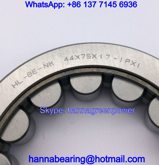 HL-BE-NK44X75X17-1PX1 Auto Bearing / Needle Roller Bearing 44*75*17mm