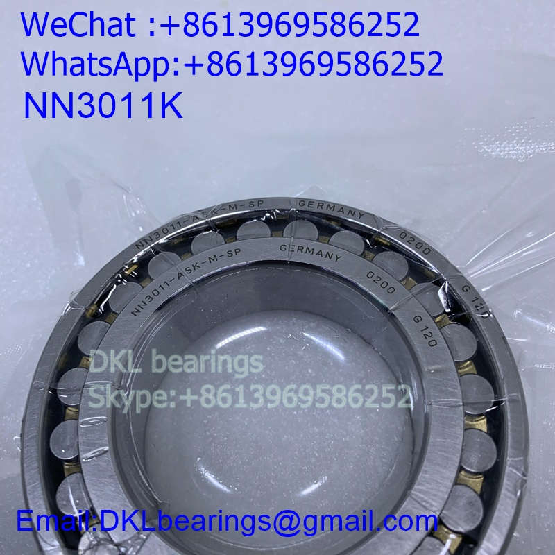 NN3011K Double row cylindrical roller bearing (High quality) 55*90*26 mm