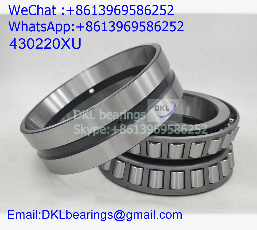 430220XU Japan Double Row Tapered Roller Bearing (High quality) size 100x180x83 mm