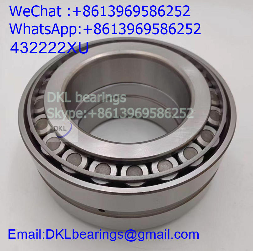 432222XU Japan Double Row Tapered Roller Bearing (High quality) size 110x200x121 mm