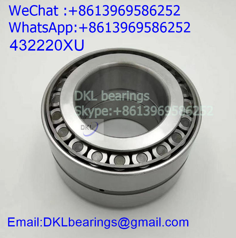 432220XU Japan Double Row Tapered Roller Bearing (High quality) size 100x180x107 mm