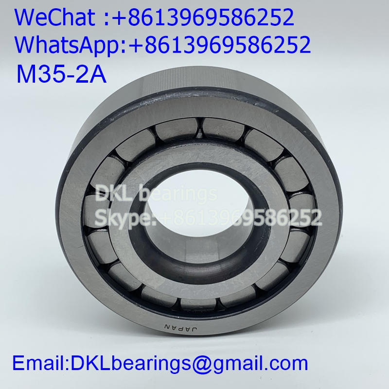 M35-2A Japan Cylindrical Roller Bearing (High quality) size 35x90x23 mm