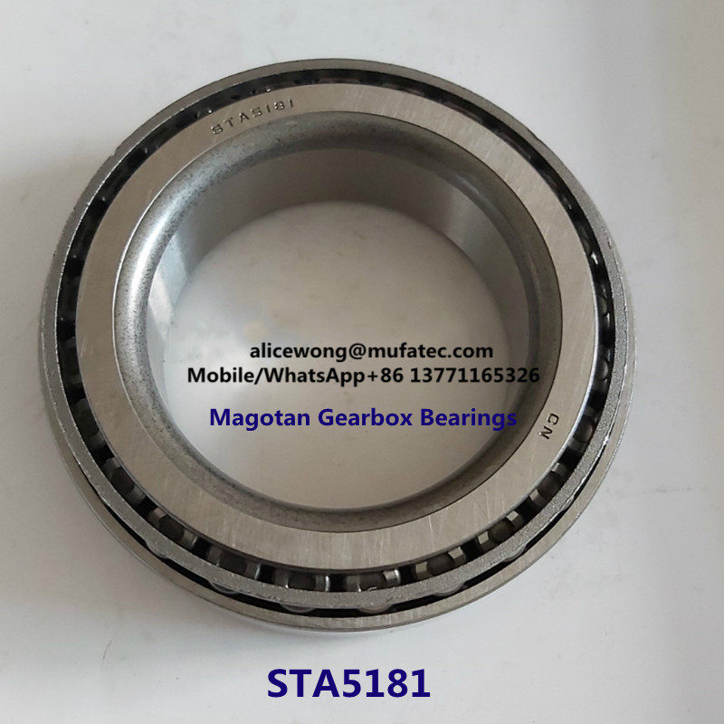 STA5181 Magotan Auto Gearbox Bearings Tapered Roller Bearings 51x81x21mm