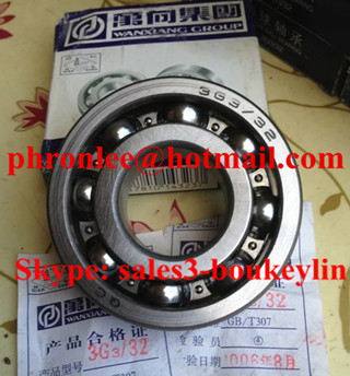 63/32-2RSC3 Deep Groove Ball Bearing 32x75x20mm