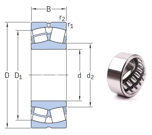 230/1000 CAKF/W33 the most novel spherical roller bearing 1000*1420*308mm