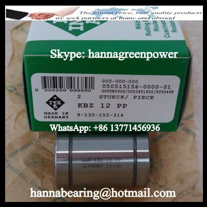 KBZ04-PP Linear Ball Bearing 6.35x12.7x19.05mm