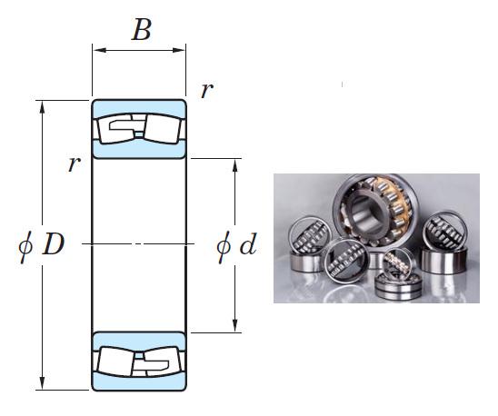 22240RHA Spherical Roller Bearings 200*360*98mm