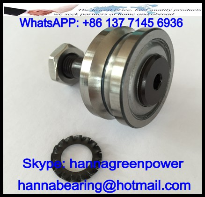 RAL42.10ZZ U-Line Guide Roller Bearing 17x42x49mm
