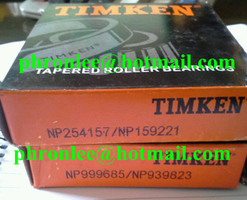 NP099285 Tapered Roller Bearing 41.27x82.55x15/23mm