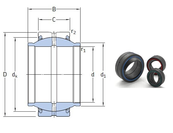 GEZM 500 ES-2RS bearings Manufacturer, Pictures, Parameters, Price, Inventory status.