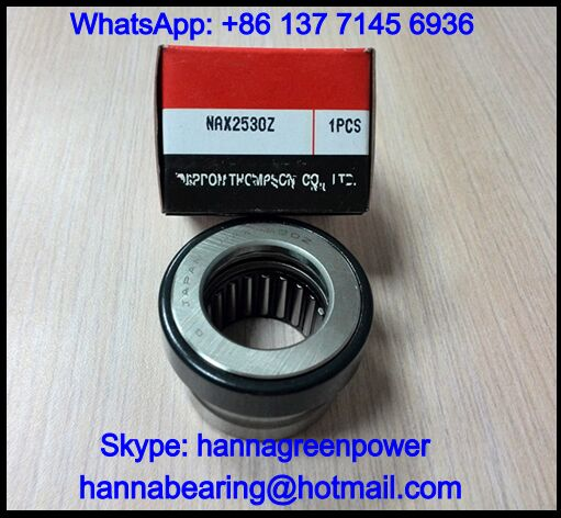 NAXI6040 Needle Roller Bearing with Thrust Ball Bearing 60x95x40mm