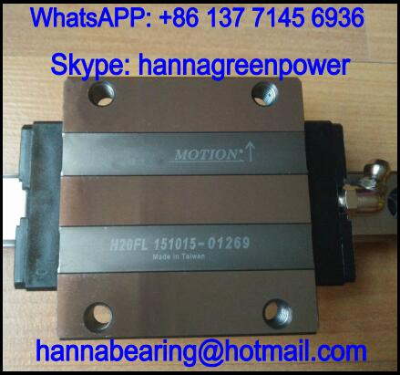 H15FN Linear Guide Block / Linear Motion Bearing 15x47x24mm