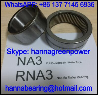 NA3080 Full Complement Needle Roller Bearing 80x125x38mm