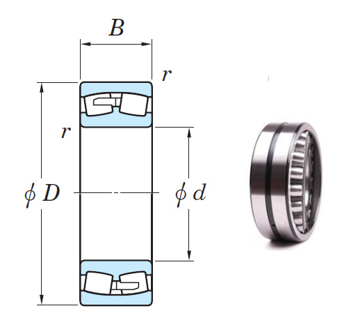 24188R Spherical Roller Bearings 440*720*280mm