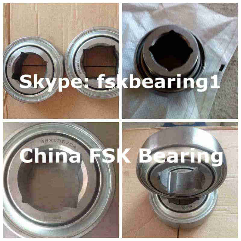 W208PP4 AgricultureBearing SquareHole 130.175x80x30.18mm