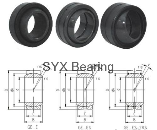 spherical plain bearing GE70FO 2RS