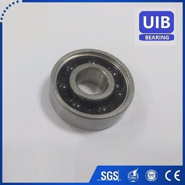 Ceramic bearing 6204 2RS, hybrid bearing 6204 2RS P6 grade ABEC-3 EMQ quality bearing
