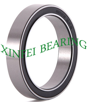 3908-2RS double row angular contact ball bearing 40x62x16mm