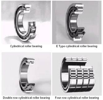 Chrome Steel of NU2208M Cylindrical Roller Bearing