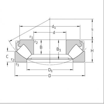 29456 Self Aligning Roller Thrust Bearing