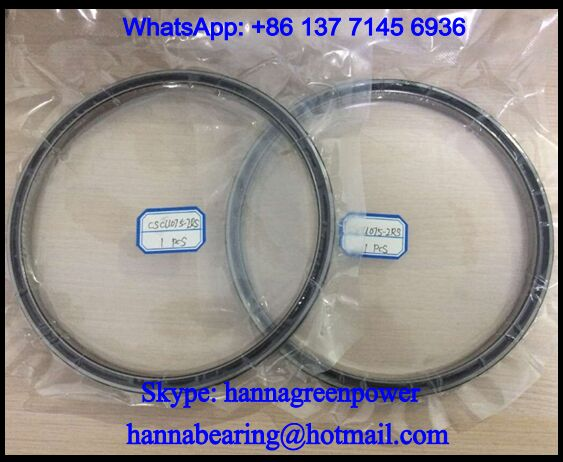 CSCU075 Thin Section Deep Groove Ball Bearing 190.5x209.55x12.7mm
