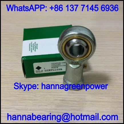 GIKFL18PB Left Hand Rod End Bearing with Internal Thread 18x46x94mm