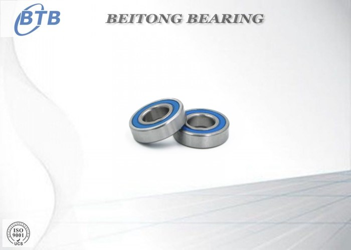 Rubber Sealed Deep Groove Ball Bearings 16002-2RS 15 X 32 X 8 Mm