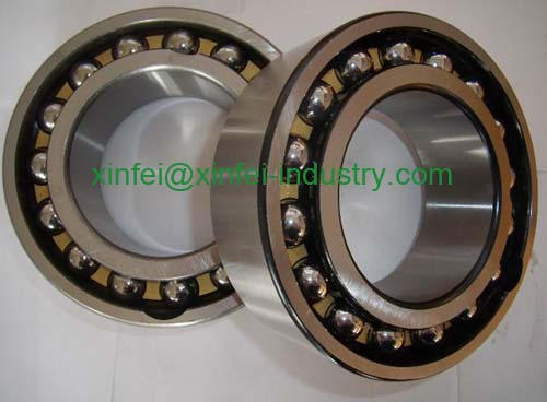 3315-2Z double row angular contact ball bearing 75x160x68.3mm
