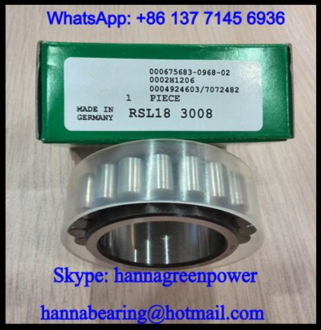 RSL183010 Cylindrical Roller Bearing for Gear Reducer 50x72.33x23mm