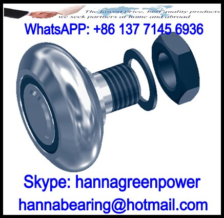 RAS28 C-Line Guide Roller Bearing 8x23.5x18.5mm