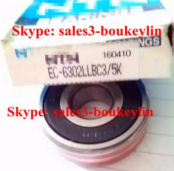 EC-6302LLU Deep Groove Ball Bearing 15x42x13mm