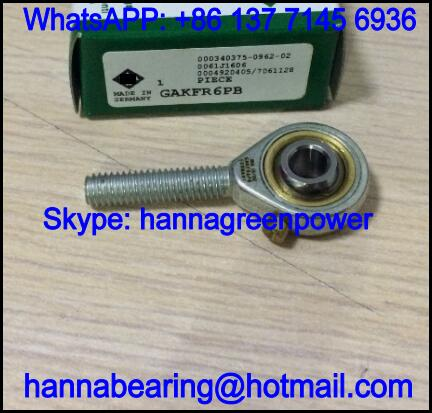 GAKFR30PB Right Hand Rod End Bearing with Male Thread 30x55x145mm
