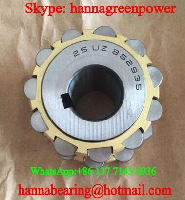 25 UZ 852935 HA Brass Cage Eccentric Bearing 25x68.5x42mm